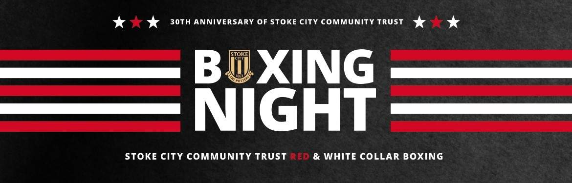 Red and White Collar Boxing tickets