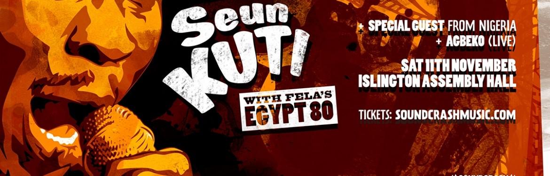 Seun Kuti and Egypt80 tickets