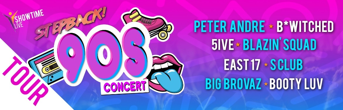 Stepback 90s tickets