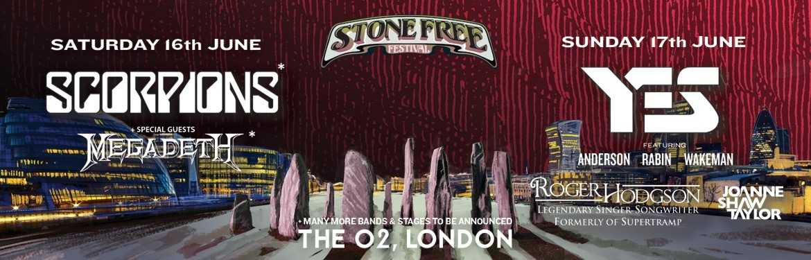 Stone Free Festival 2018 tickets