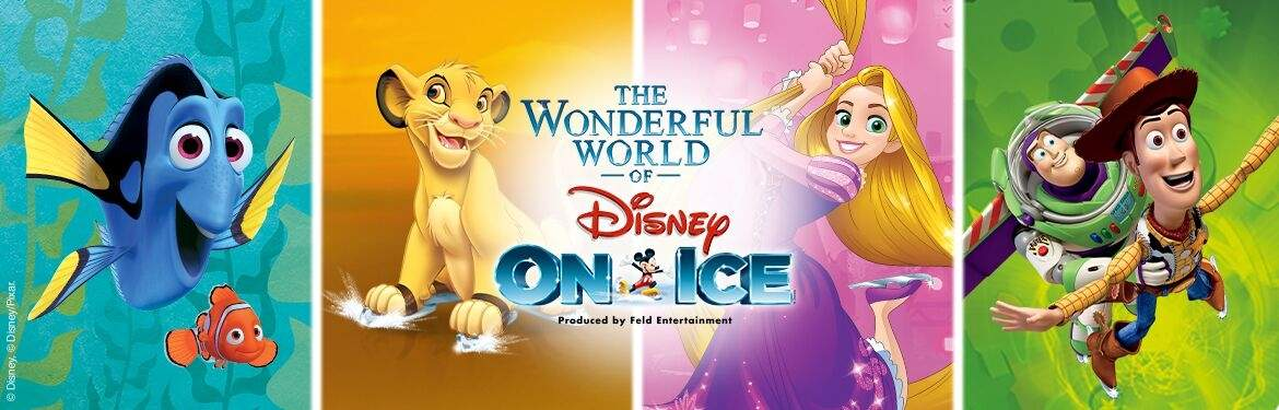 The Wonderful World Of Disney On Ice tickets
