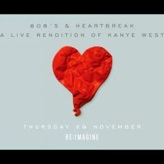 808's & Heartbreak - A Live Rendition of Kanye West