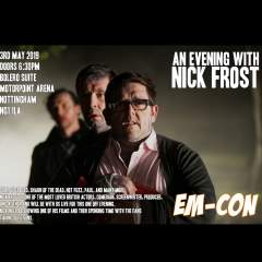 An Evening with Nick Frost