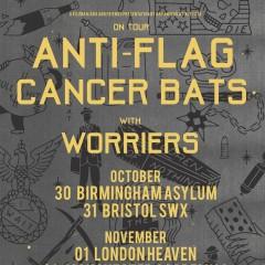 Anti-Flag / Cancer Bats