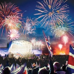 Blenheim Palace Battle Proms Concert