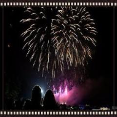 Crystal Palace Fireworks 2016