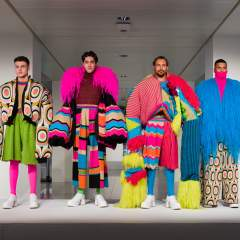 Fashion Knitwear Design Catwalk Show and Exhibition
