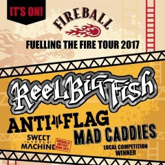 Fireball - Fuelling The Fire Tour image