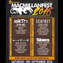 Macmillan Fest 2016