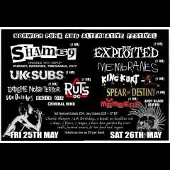 Norwich Punk & Alternative Festival 2018