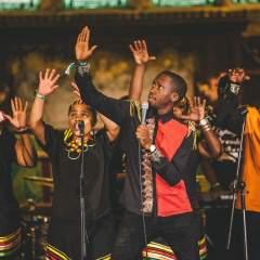 Paul Simon's Graceland performed by the London African Gospel Choir