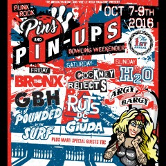 Punk Rock Pins and Pin Ups