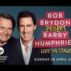 Rob Brydon probes Barry Humphries