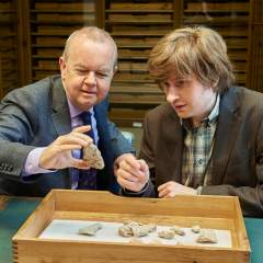 An evening with Ian Hislop and British Museum Curator Tom Huckenhull