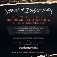 The Pogues Irish Whiskey Presents: A Shot at Discovery - The Heats