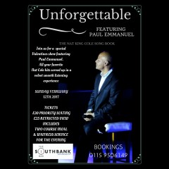 Unforgettable - Paul Emmanuel Live!