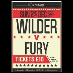Wilder v Fury Live