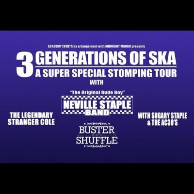 3 Generations of Ska tickets