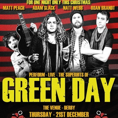 a night of green day tickets - Green Day Christmas