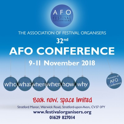 AFO Conference tickets