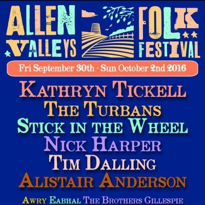 Allen Valleys Folk Festival  tickets