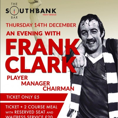 An Audience with Frank Clark  tickets