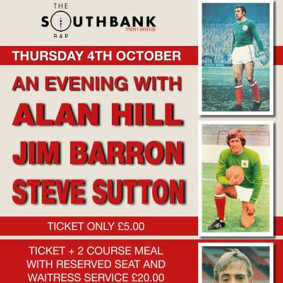 An Evening with Alan Hill & Steve Sutton tickets