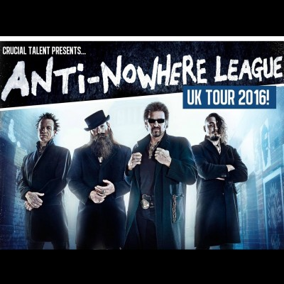 Anti Nowhere League tickets