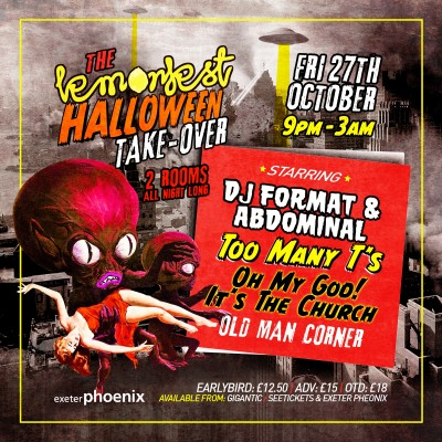 Attack of the Lemonfest Halloween Takeover tickets