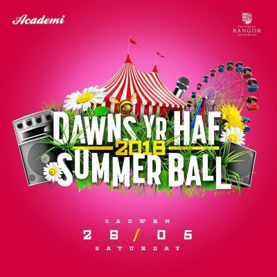 Bangor University Summer Ball 2018 tickets