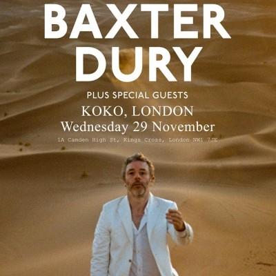 Baxter Dury tickets