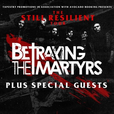 Betraying The Martyr's Plus Special guests - Manchester tickets