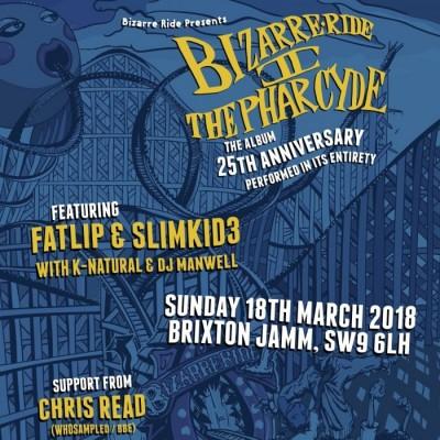 Bizarre Ride II The Pharcyde - 25th Anniversary tickets