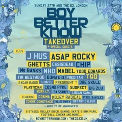 Boy Better Know Takeover tickets