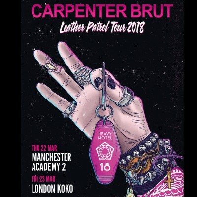 Carpenter Brut  tickets