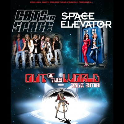 Cats in Space + Space Elevator tickets