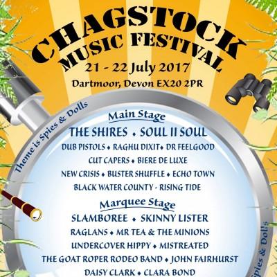 Chagstock tickets