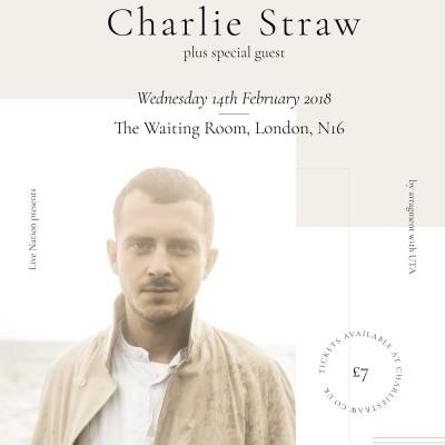 Charlie Straw tickets
