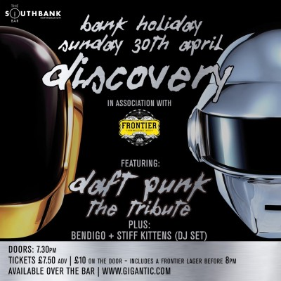 Discovery - The Daft Punk Tribute tickets