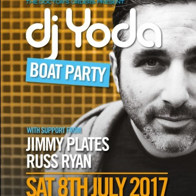DJ Yoda Boat Party tickets