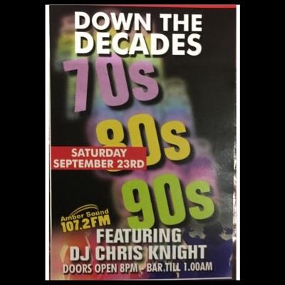 Down The Decades tickets