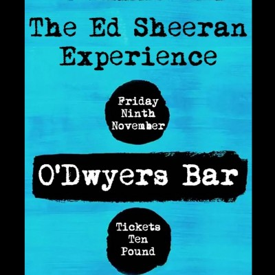 Ed Sheeran Experience tickets