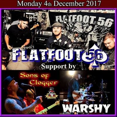 Fallout 56 + Sons of Clogger + Warshy tickets