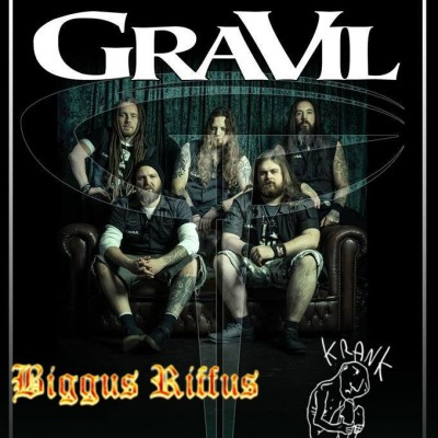 GRAVIL with support from Biggus Riffus & Krank tickets
