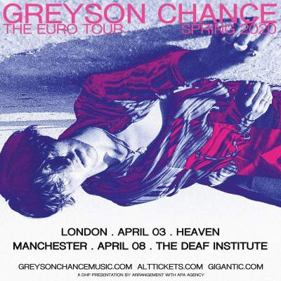Greyson Chance tickets