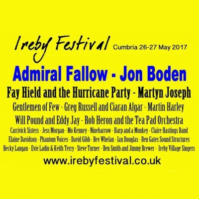 Ireby Festival tickets