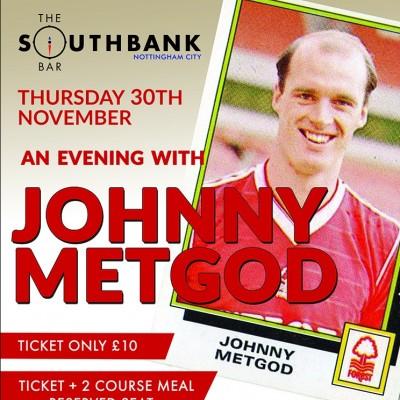 Jonny Metgod tickets