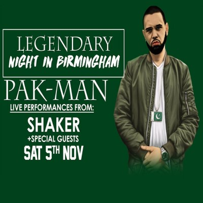 Legendary Night in Birmingham tickets