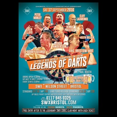Legends Of Darts tickets