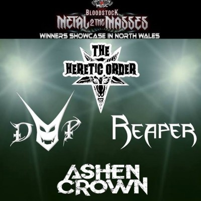M2TM Winners Showcase North Wales: The Heretic Order, Devils Playground, Ashen crown, Reaper tickets